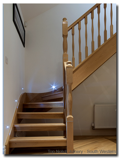 Kite Winder Staircase in Ash